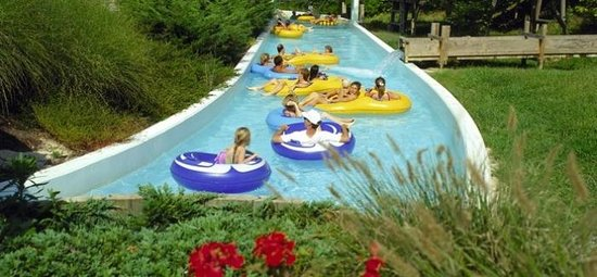 The Beach Waterpark: The lazy river