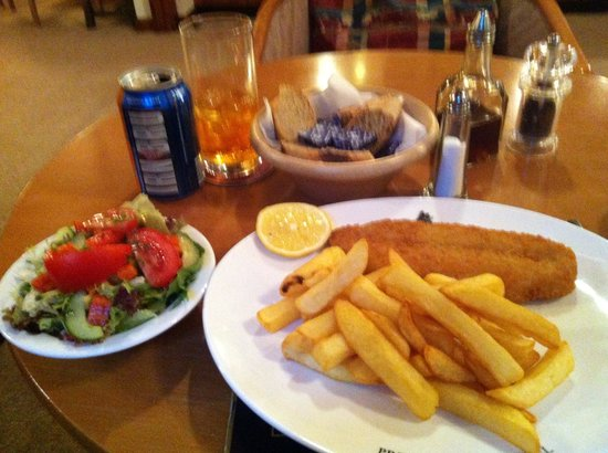 The Prince's House Hotel: Fish and chips