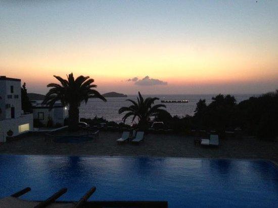 Faros Resort: Vue de l'hotel
