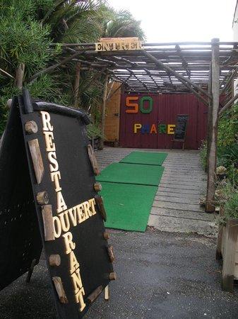 So Phare Away : l'entrée du restaurant