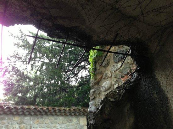 La Chapelle de Saint Pierre : Terrase