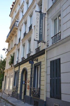 Hotel Villa Bohème: Hotelgevel