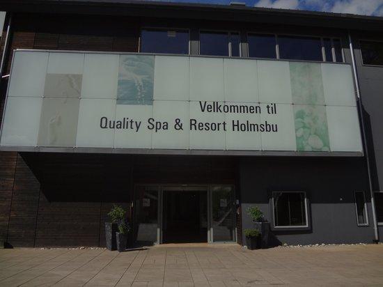 Holmsbu Hotel & Spa: Utenfor hotellet