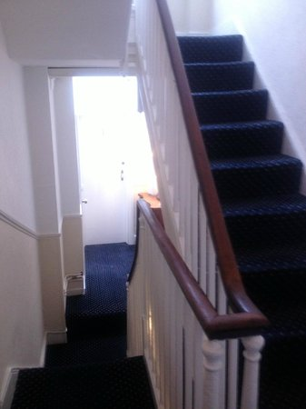Marine View Hotel Brighton: Stairways