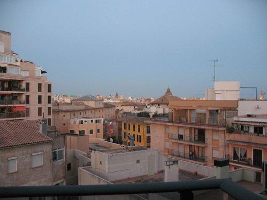 Hotel Palladium: vista dal balcone della stanza