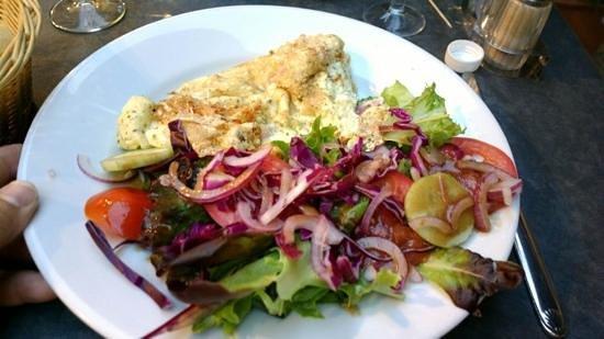 La Gourmandine : l'omelette