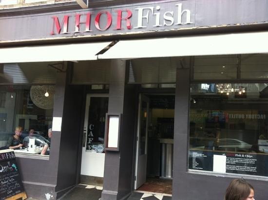 Mhor Fish: fachada