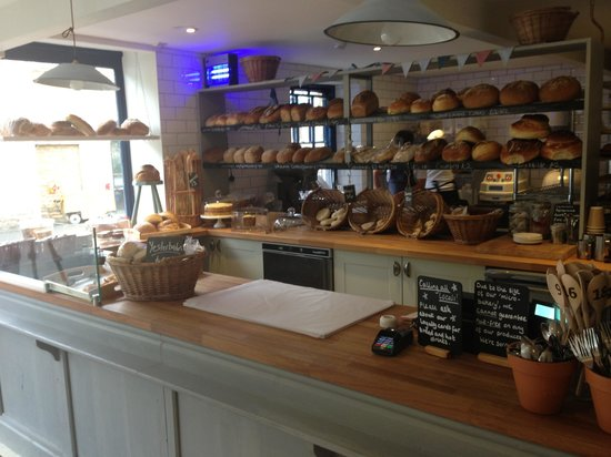 Bakery on the Water: Counter