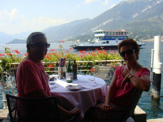 Terrazza Metropole : Smashing view of Como
