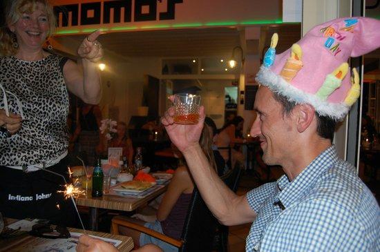 Indiana Johns Cala Dor: birthday drink