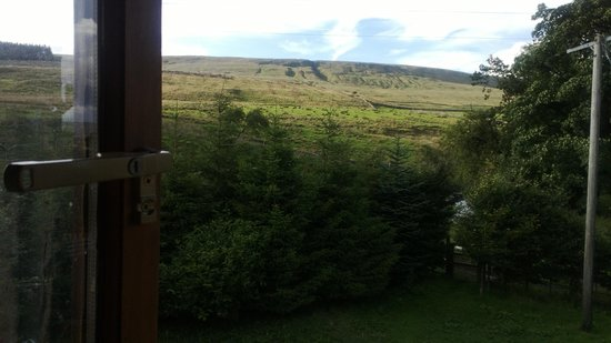The Old Dairy Farm: View from bedroom window
