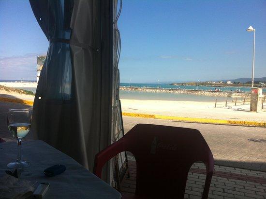 Bodegon O Carro: Hace una hora que acabamos de comer, con estas vistas a ver quien nos levanta!!!