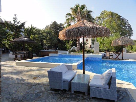 Summerland  Holiday's Resort: la piscine du restaurant et le jacuzzi