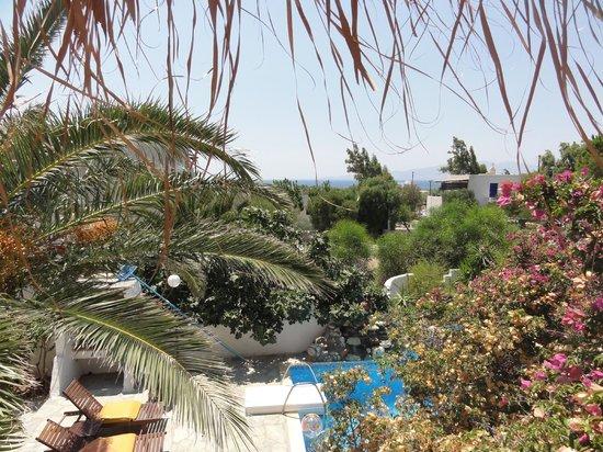 Summerland  Holiday's Resort: la mer vue de la terrasse de notre chambre