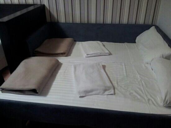 Microondas de la habitaci n fotograf a de hall 88 for Appart hotel 88 salamanca