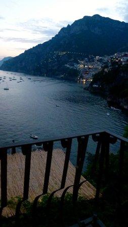 Villa Tre Ville: Vistas del pueblo de Positano.