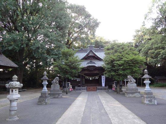 Kazo, Japonya: 境内