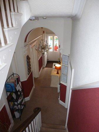 Burleigh House: Entrance hall