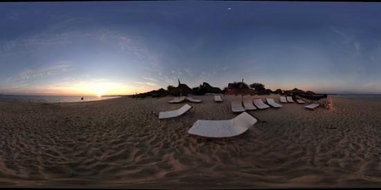 Anakao Ocean Lodge: Panorama 360 gradi della spiaggia