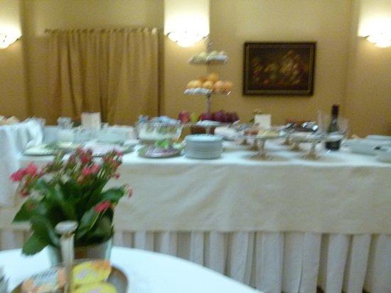 Duke Hotel : salle de petit dej