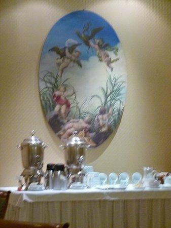 Duke Hotel: salle ptit dej