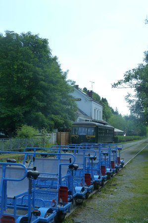 Railbikes of the Molignee