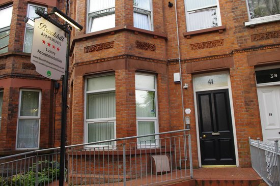 Brookhill Serviced Apartments: L'ingresso