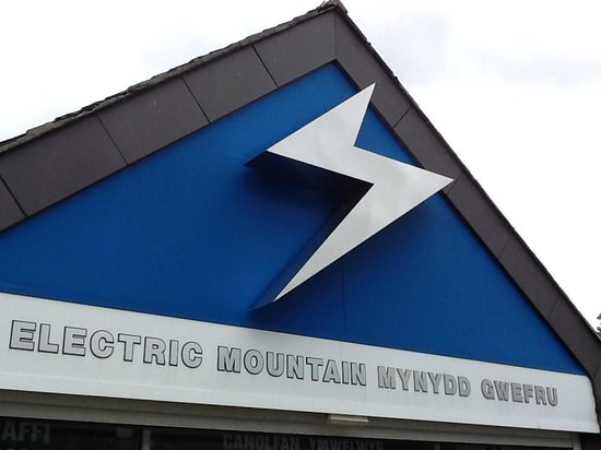Electric Mountain: look for this roof - opposite the Snowdon Railway