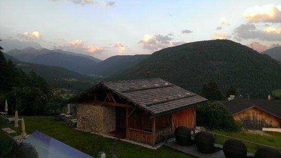 Hotel Alpen Tesitin: la casetta delle saune