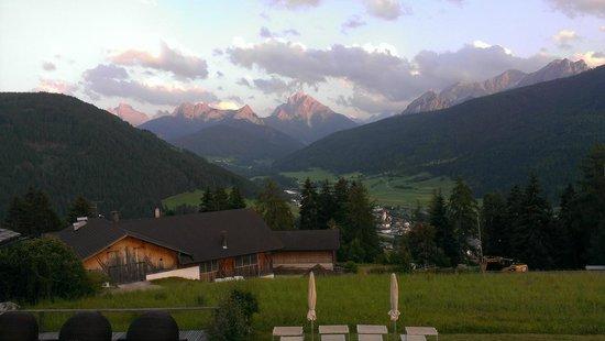 Hotel Alpen Tesitin: panorama dalla terrazza del bar