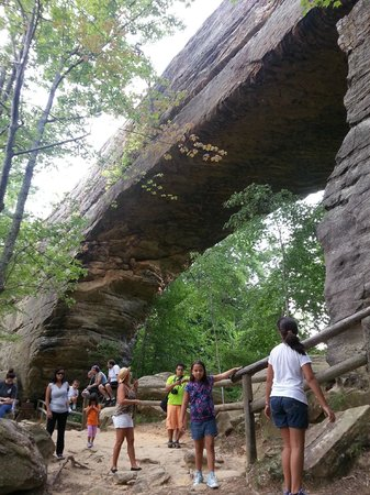 Natural Bridge State Resort Park: natural bridge