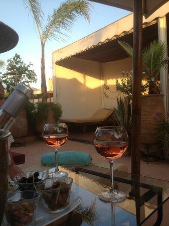 Riad Dar Anika : Enjoying the terrace