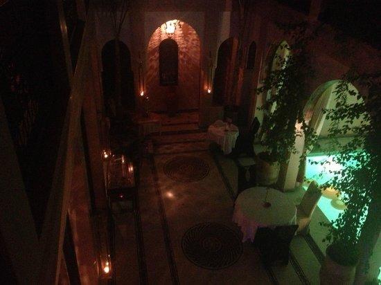 Riad Dar Anika : The entrace hall
