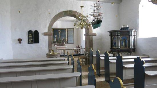 Hanstholm, Denmark: Inne i kirken