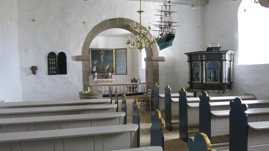 Hanstholm, เดนมาร์ก: Inne i kirken