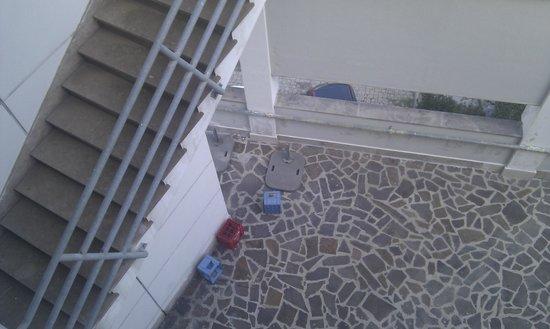 La Reserve Hotel Terme Centro Benessere : Panaroma vista cassette in plastica