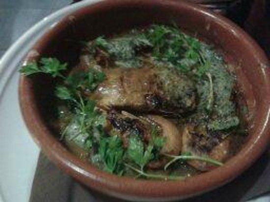 La Pecherie Ducamp: poulet aux crevettes