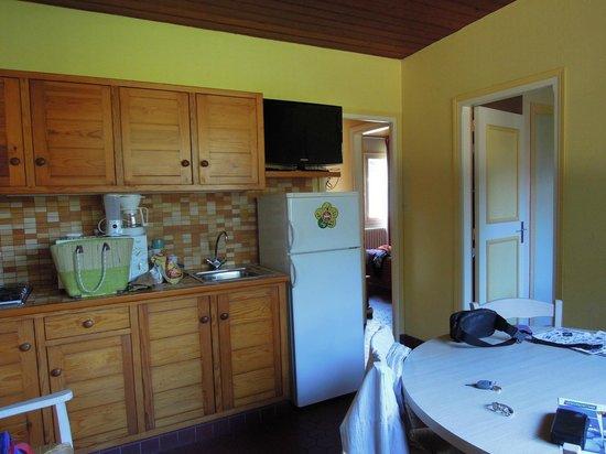 Hotel Club Vacanciel Merlimont: Cuisine/Salon