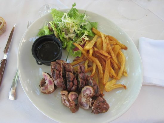 Le Baron Gourmand : Rognon de veau sur le grill, çà c'est bon, je l'ai goûté et apprécié........
