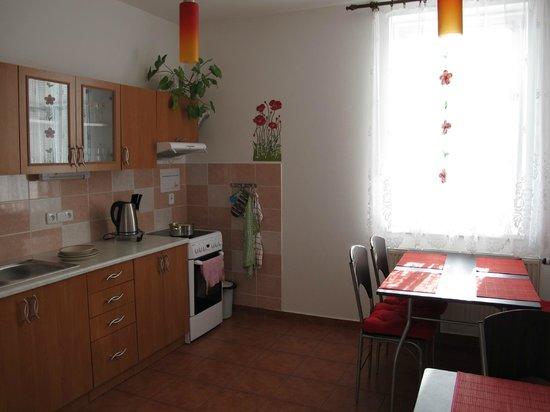 Penzion Malaika: cucina
