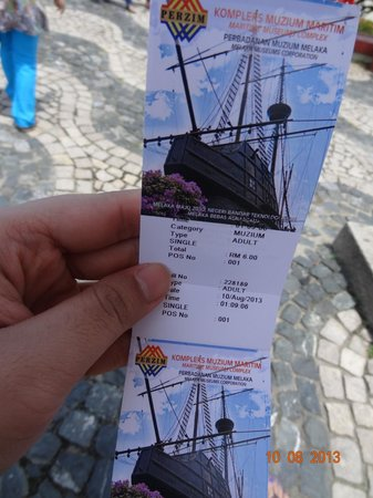 Flora de la Mar Maritime Museum: Tickets