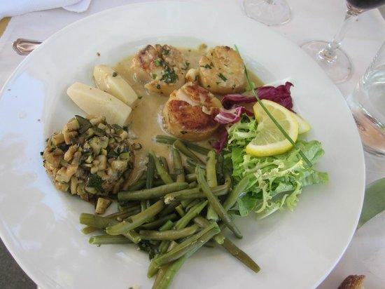 Le Baron Gourmand: Noix de Saint-Jacques au Tarriquet, c'est quand même appétissant, non?...