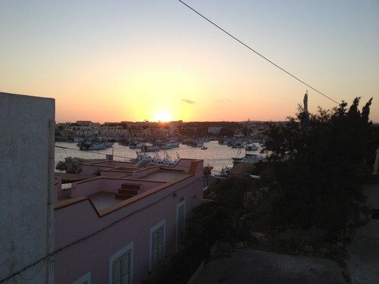 Porthotel Calandra : Vista sul porto nuovo