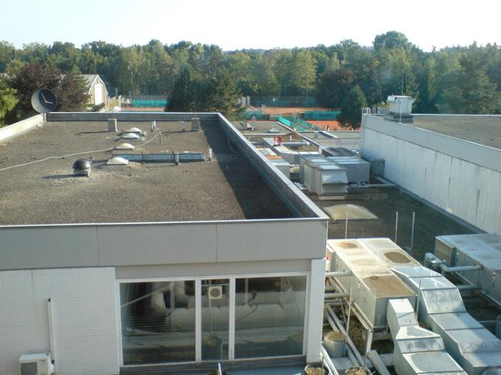 Hilton Nürnberg: 3 Stock ...super Aussicht