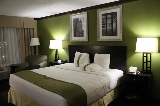Holiday Inn Chicago Oakbrook: Guest room