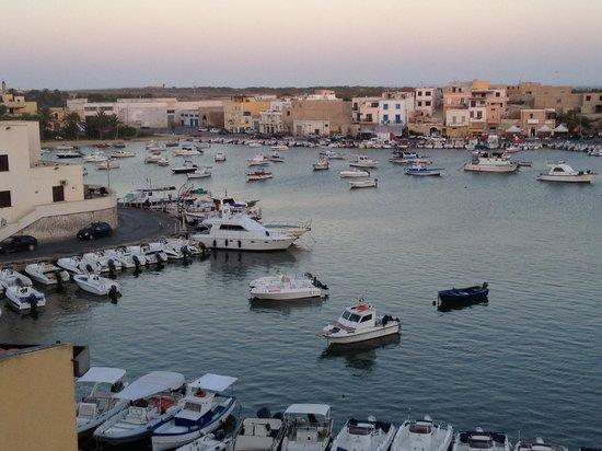 Porthotel Calandra : Vista sul porto vecchio