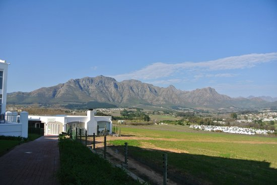 Protea Hotel by Marriott Stellenbosch: View from the hotel