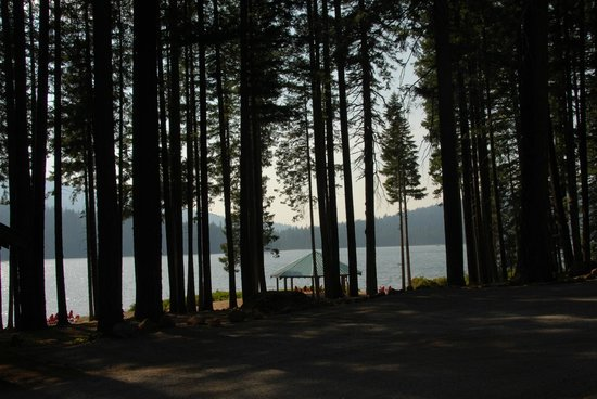 Lake of the Woods Resort : Right before the sun went down