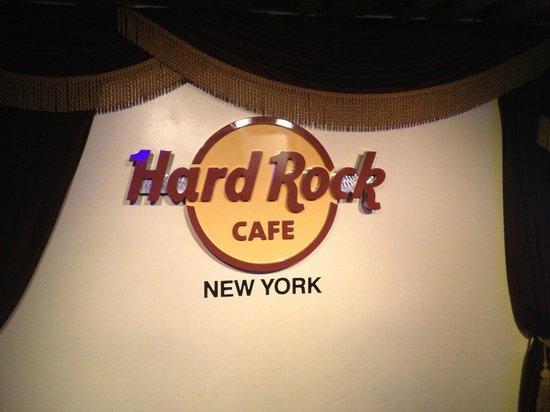 Hard Rock Cafe: hard rock new york!