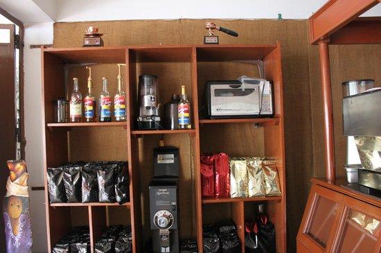 Hotel Arbol de Suenos: Exquisita cafetería en planta baja